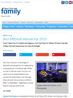 Best Mitzvah Venues for 2015