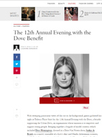 The 12th Annual Evening with the Dove Benefit